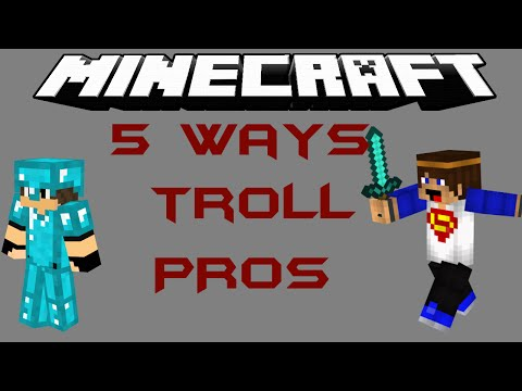 Minecraft short - 5 Ways to troll a Hacker/Pro in Annihilation