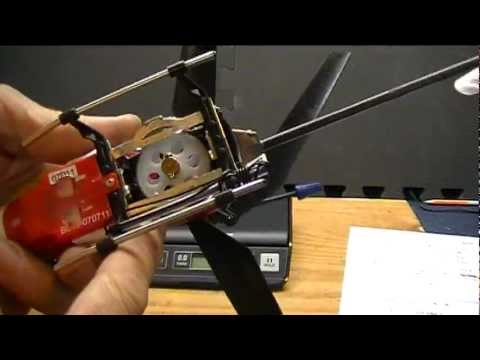 Coaxial RC Helicopter Hacks