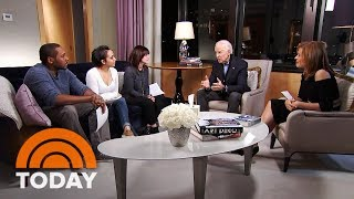 Former Vice President Joe Biden Visits With Three Cancer Survivors | TODAY