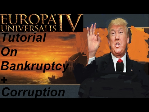 [EU4] Tutorial: '202' Florrynomics 2/2 How to survive Bankruptcy and Make money from corruption