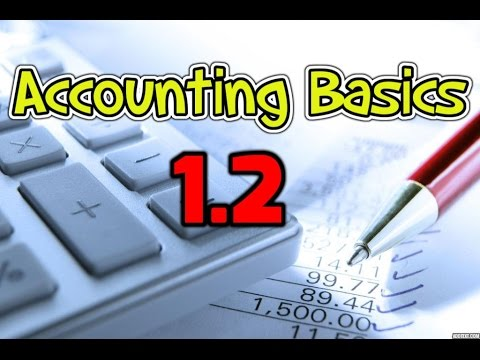 Accounting Basics 1.2 - Income Statement