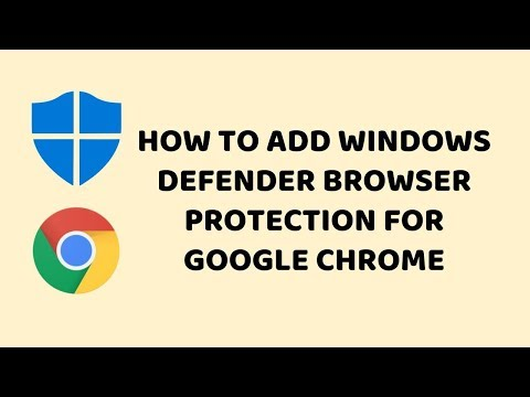 How To Add Windows Defender Browser Protection for Google Chrome - Hindi