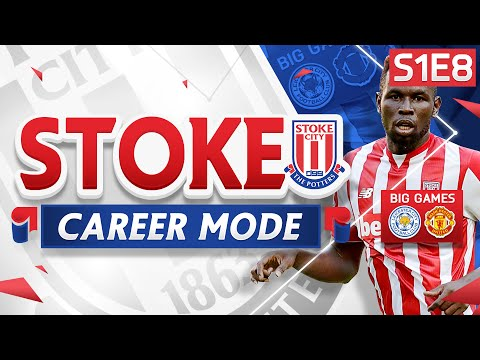 FIFA 16 Stoke Career Mode - CHAMPIONS LEAGUE PLACE?! WE ARE ON FIRE!  - S1E8