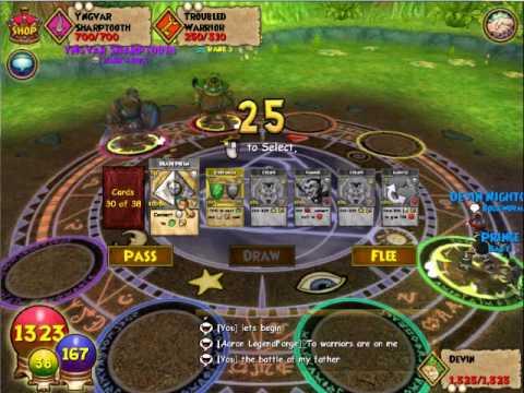 Wizard101 - grizzleheim walkthrough:Part 1 - battle off my father