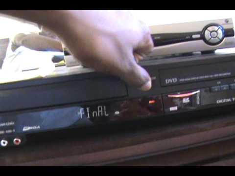 Malfunctioning issues with Panasonic VHS - DVD Recorder DMR-EZ48V