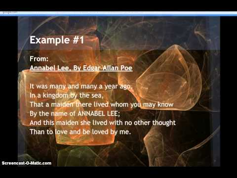 Examples of Speaker or Persona in Poetry