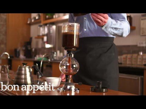 Bon Appétit/Stumptown Coffee Brew Guides: Vacuum Pot