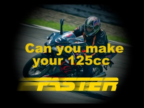 Can you make your 125cc FASTER??????
