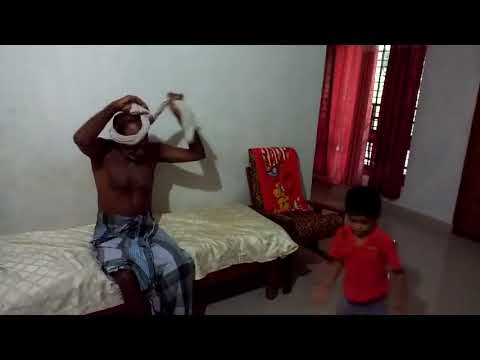 Hey did you see the video of Grandson learning tricks from Grandfather