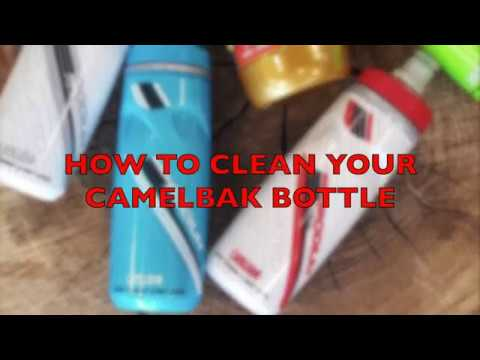 How to clean a Camelbak podium bottle by Niels