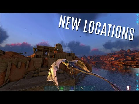RAGNAROK's NEW DESERT SECTION - New Locations! - ARK Survival