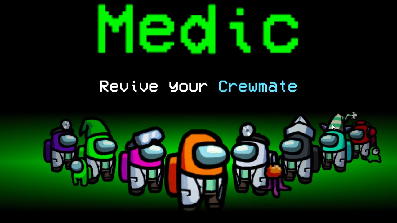 Among Us With NEW MEDIC ROLE.. (broken)