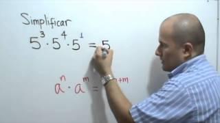 Multiplicación Potencias De Igual Base