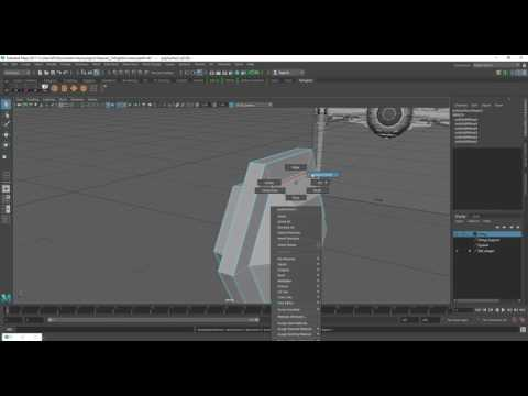 Tie Fighter Modelling in Maya Part 8