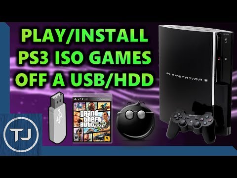 How To Play PS3 ISO Games Off USB/HDD! *Jailbroken PS3* (multiMAN)