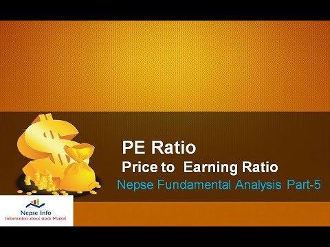 PE Ratio(Price to Earning Ratio), Nepse Fundamental Analysis Part-5