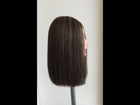 One Length Hair Cut using the Hirmiz Level Cutting Comb