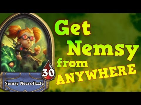 How to get Nemsy Necrofizzle from ANYWHERE!