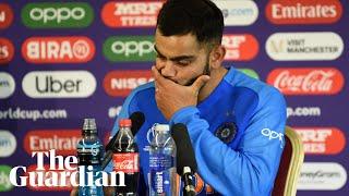 'It breaks your heart': Virat Kohli on India's shock loss to New Zealand