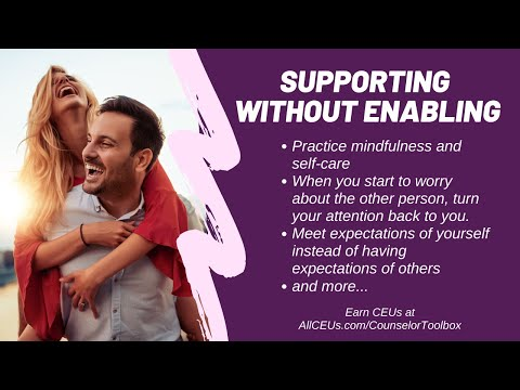Assisting the Person without Enabling