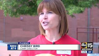 Phoenix camp helping kids cope with personal tragedy