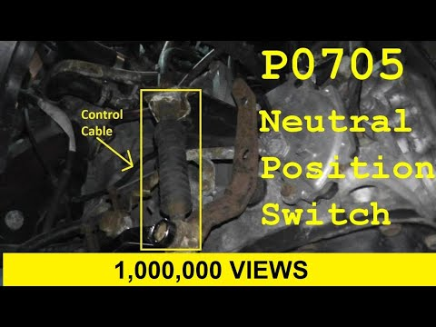 How To Test and Replace the Neutral Safety Swtich / Inhibitor Switch P0705
