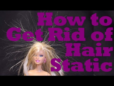 How to Get Rid of Hair Static | Instant Beauty ♡