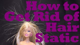 How To Get Rid Of Hair Static Instant Beauty