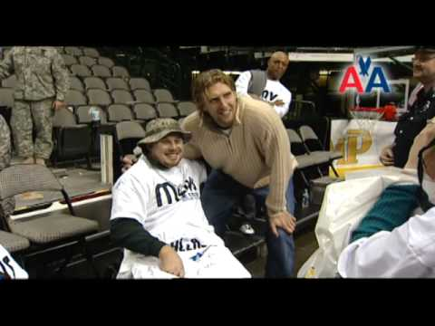 American Airlines Joins the Dallas Mavericks in the Sixth Annual Seats for Soldiers Event