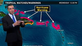 Tracking Hurricane Irma: Outlook for Sept. 6, 2017