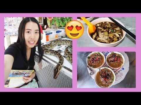 VLOG: SNAKE TEMPLE, PENANG HILL AND FOOD FOOD FOOD! (PENANG DAY 1 & 2)