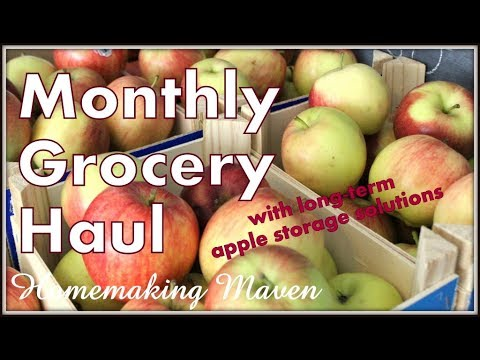 Monthly GROCERY HAUL! | Family of 6 | Homemaking Maven