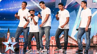 Will the Judges give The Sakyi Five something to celebrate?   Britain's Got Talent 2015