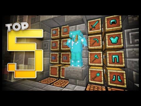 Minecraft  - Storage Room Designs & Ideas