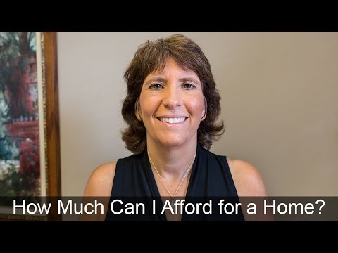 How Much Can You Afford to Pay for a Home?