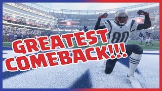 THE GREATEST MADDEN 18 MUT SQUADS COMEBACK! - Madden 18 MUT Squads Gameplay