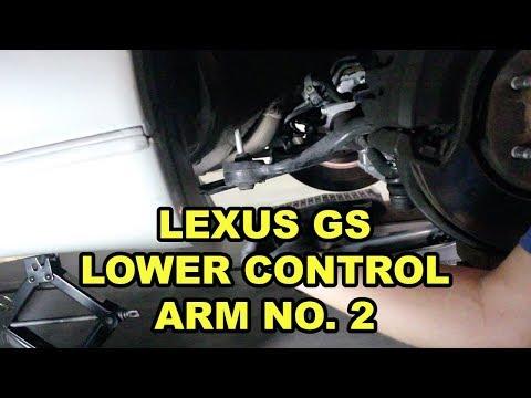 1998-2005 Lexus GS Caster Arm Replacement