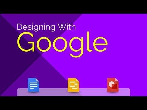 Designing With Google - How to Create a Flyer