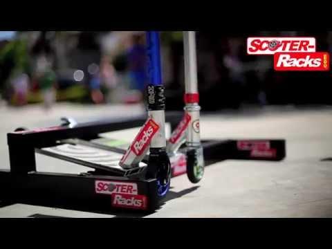 Scooter Racks Ride' Em... Grind 'Em... Rack 'Em!