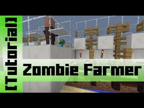 Zombie powered Melon and Pumpkin Farm [Tutorial]