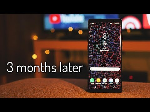 Samsung Galaxy Note 8 - 3 months later (Long Term Review)