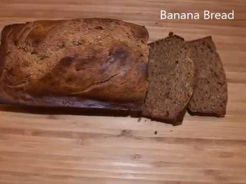 Whole Wheat Banana Bread Recipe | Banana Bread | Honey Banana Bread