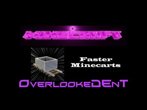 Faster Minecarts - Minecraft Xbox 360/PS3 - [Tutorial]