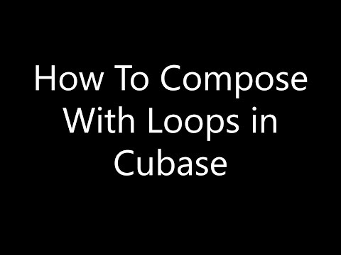 Cubase Tutorial: How To Compose with Loops