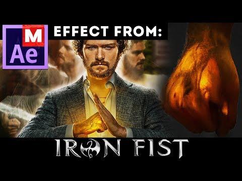 After Effects Tutorial: Iron Fist Effect - Iron Punch - Netflix Show - Marvel