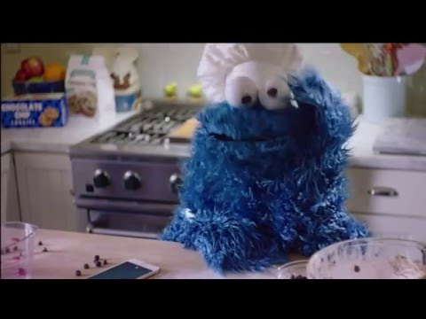 Cookie Monster iPhone 6 S Commercial