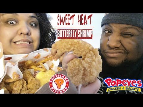 Popeye's Sweet Heat Butterfly Shrimp Food Review