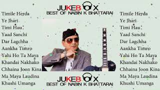 Nabin K Bhattarai Top Songs Collection Audio Jukebox   Nepali Pop Songs Collection