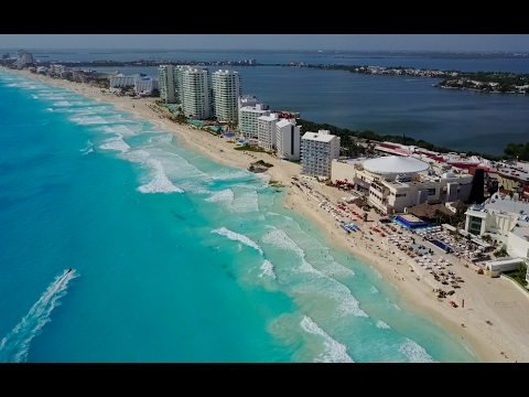Cancun to Belize with my drone