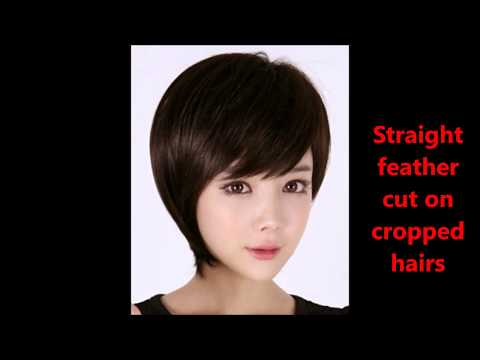 Haircuts Name With Pics||Feather Cut Hairstyles For Short Hairs||Short Hair Cut Ideas
